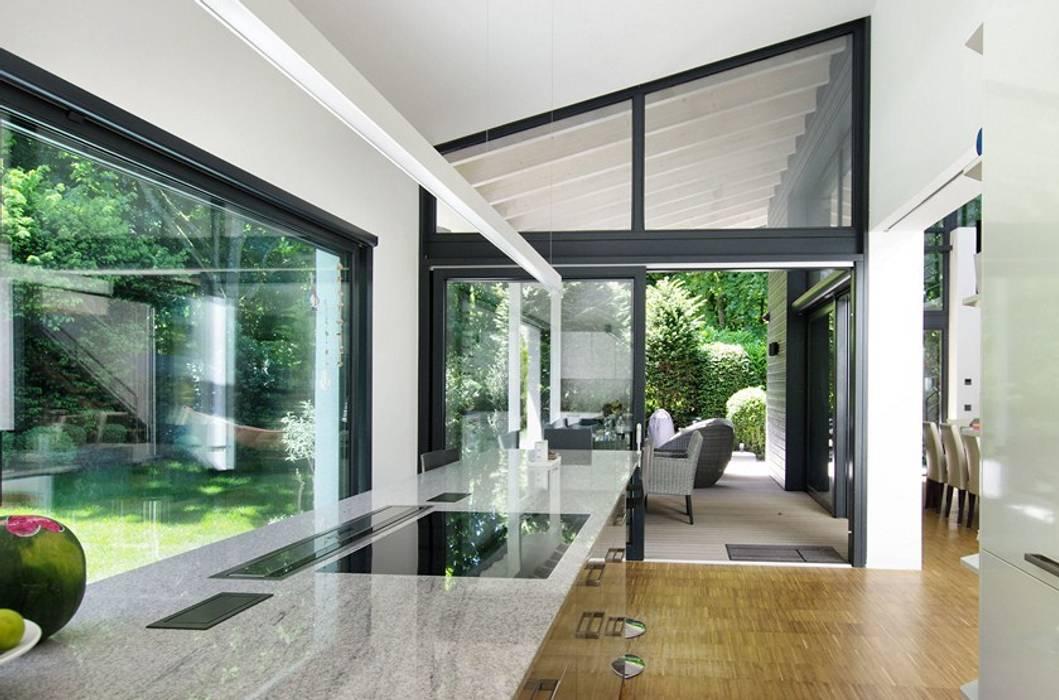 Architekten Lenzstrasse Dreizehn Modern Kitchen