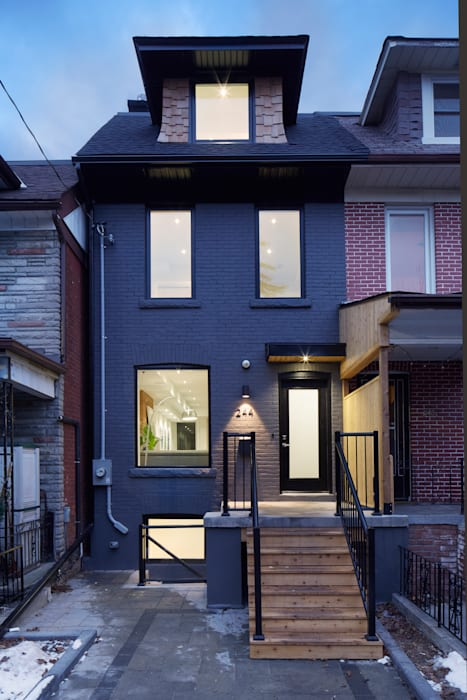 Montrose Ave Project Minimalist house by Contempo Studio Minimalist