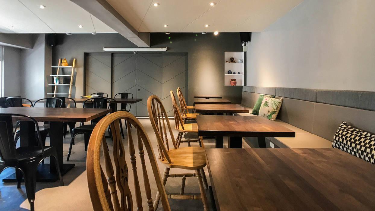 2F 全景:  辦公室&店面 by 見和空間設計