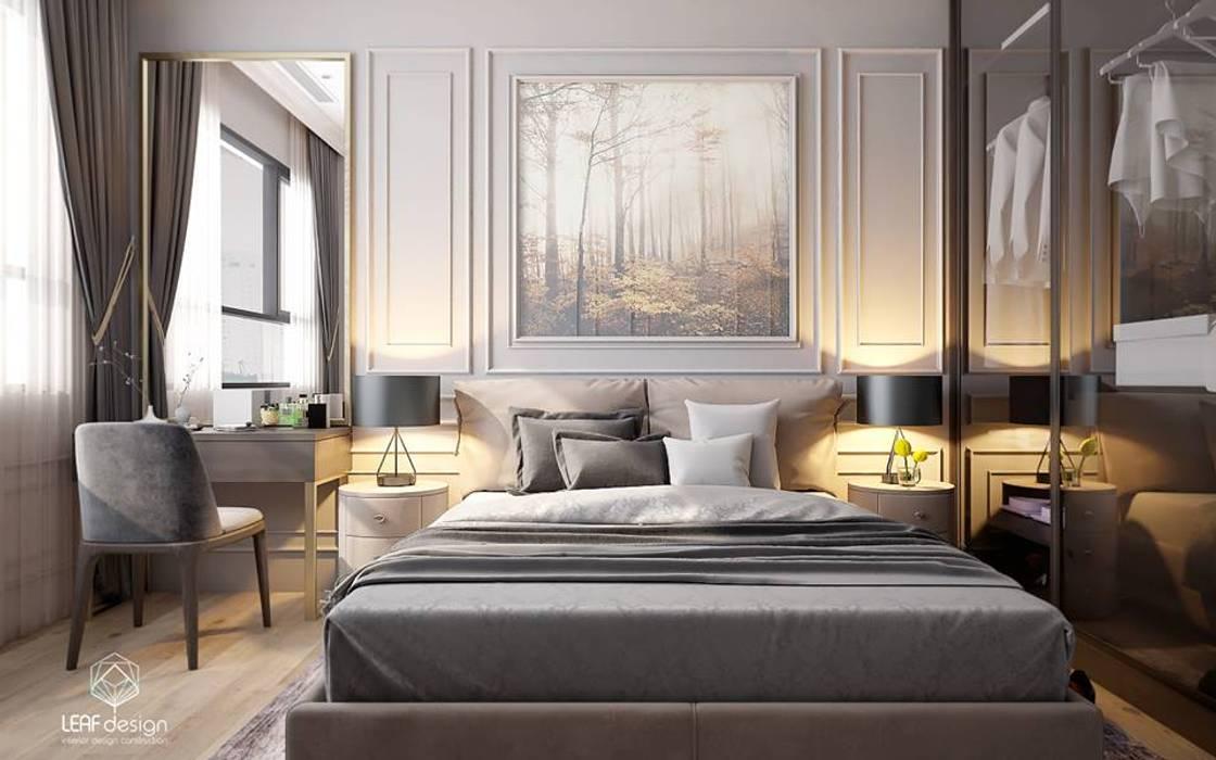 MASTERI THẢO ĐIỀN, D2:  Phòng ngủ by LEAF Design , Kinh điển