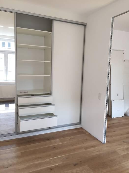 Einbauschank mit schiebetüren: schlafzimmer von schrankprojekt gmbh ...