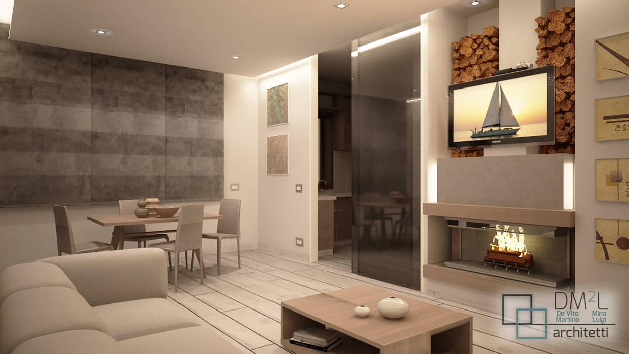 Soggiorno Moderno Con Camino openspace con camino soggiorno moderno di dm2l moderno | homify