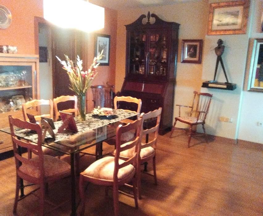 Salón comedor con la pintura y el arte como protagonistas: comedores ...