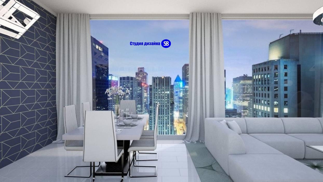 Hi-Tech living room: modern Living room by 'Design studio S-8'