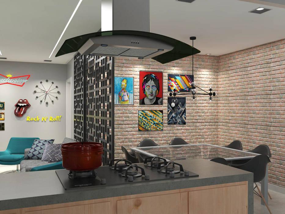 Cocinas de estilo moderno de Lorena Porto - Arquitetura e Interiores Moderno