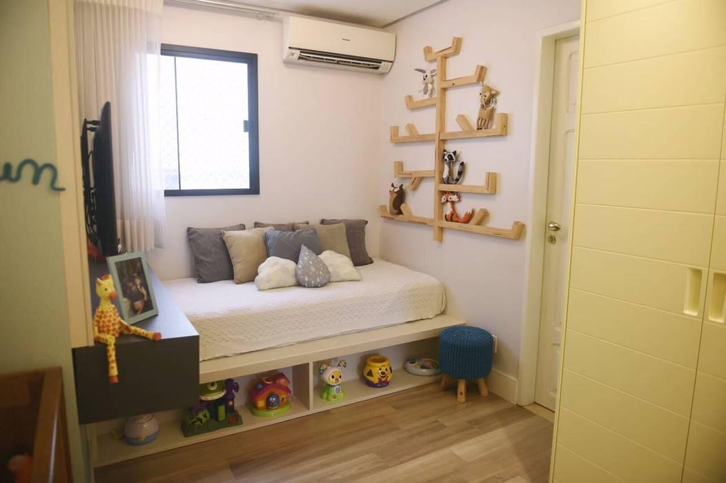 Lorena Porto - Arquitetura e Interioresが手掛けた赤ちゃん部屋,