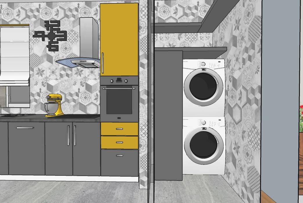 Angolo Lavanderia Stireria : Angolo lavanderia in cucina come organizzare al meglio l angolo
