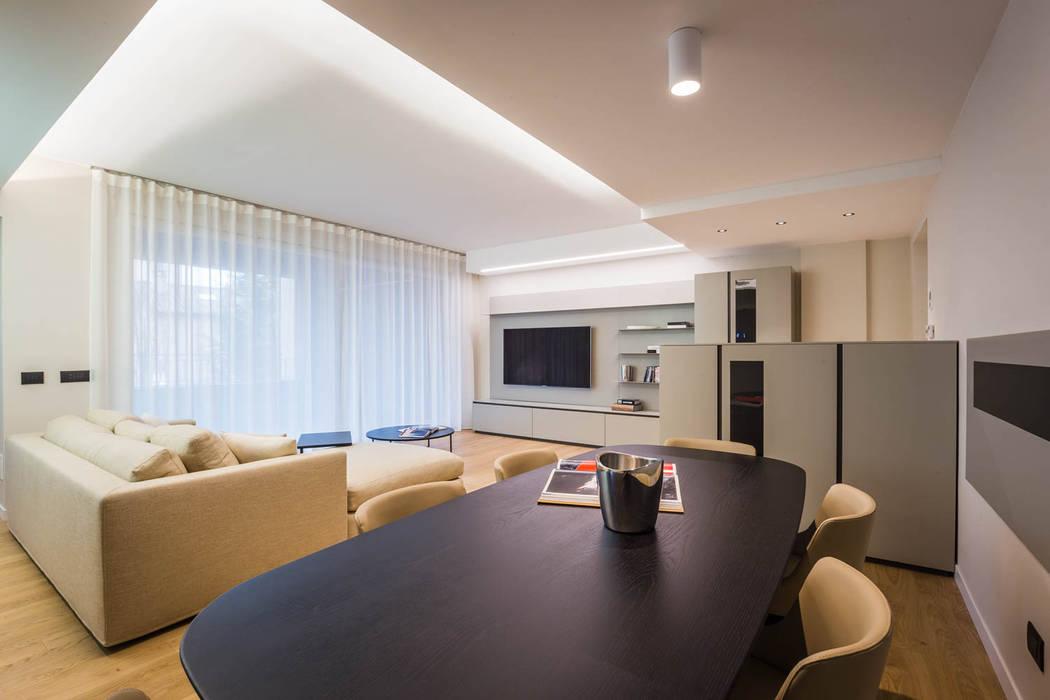 Soggiorno minimal soggiorno minimalista di adidesign for Soggiorno minimalista