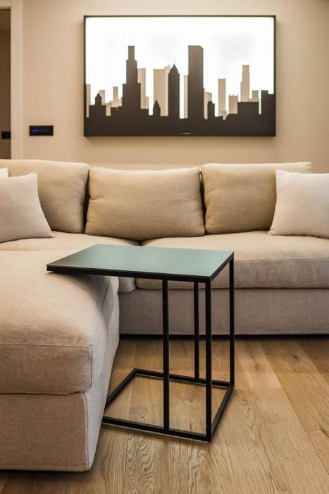 Divano e complementi soggiorno minimalista di adidesign ...