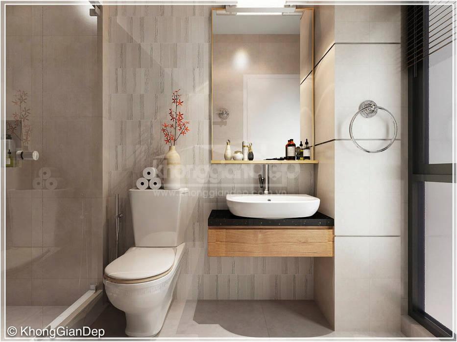 Wc:  Phòng tắm by Công ty cổ phần đầu tư xây dựng Không Gian Đẹp , Kinh điển