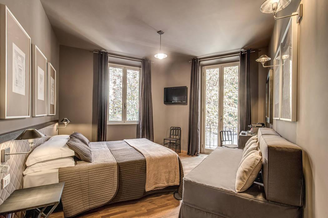 Zero6 guest house (roma - prati): camera da letto in stile di studio ...