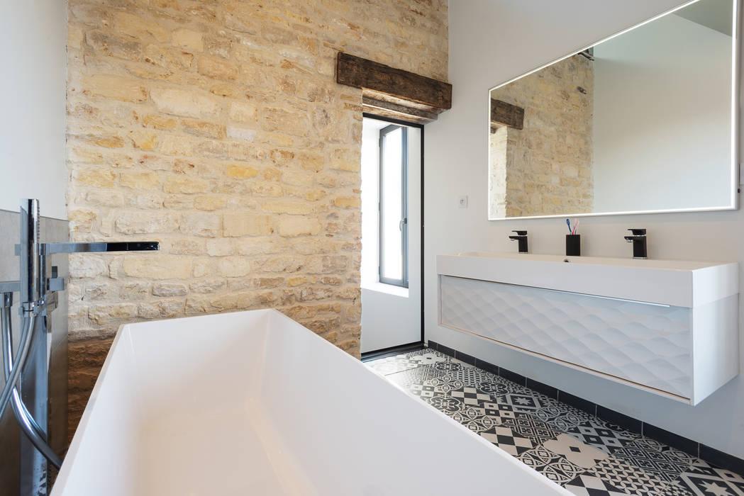 projet abb alix salle de bains de style par eline sango architecture homify. Black Bedroom Furniture Sets. Home Design Ideas