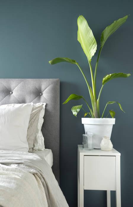 Licetto in de kleur Steel Blue Scandinavische slaapkamers van Pure & Original Scandinavisch
