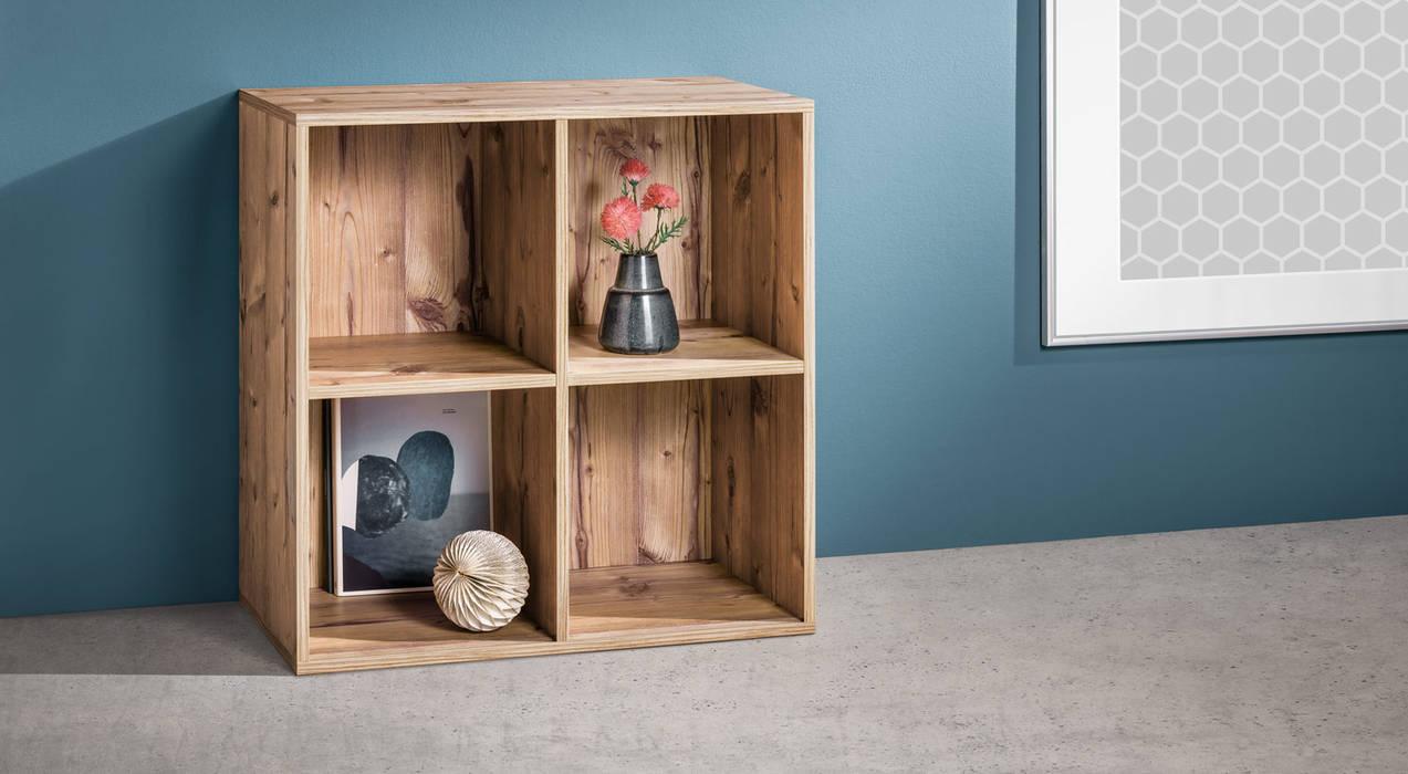 Clic 2x2 Shelf Cube Living Room By Regalraum Uk