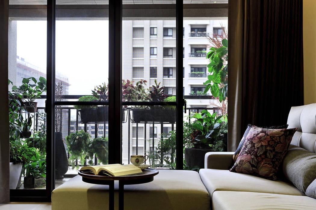 Asiatische Wohnzimmer von 楊允幀空間設計 Asiatisch