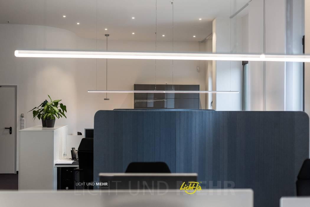 Lichtplanung für Büroräume in Hamburg:  Bürogebäude von LichtJa - Licht und Mehr GmbH