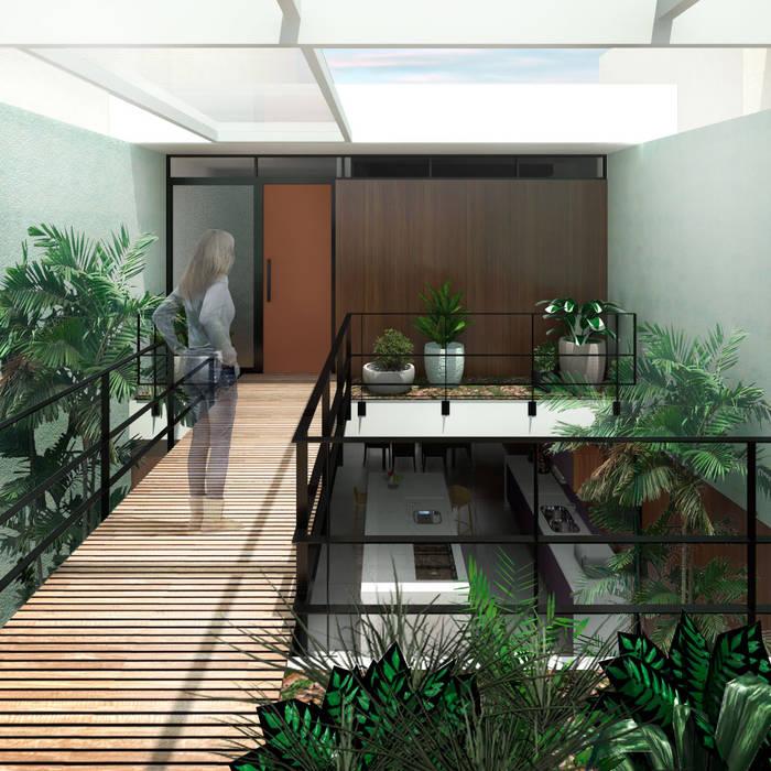Corridor & hallway by ODVO Arquitetura e Urbanismo, Modern