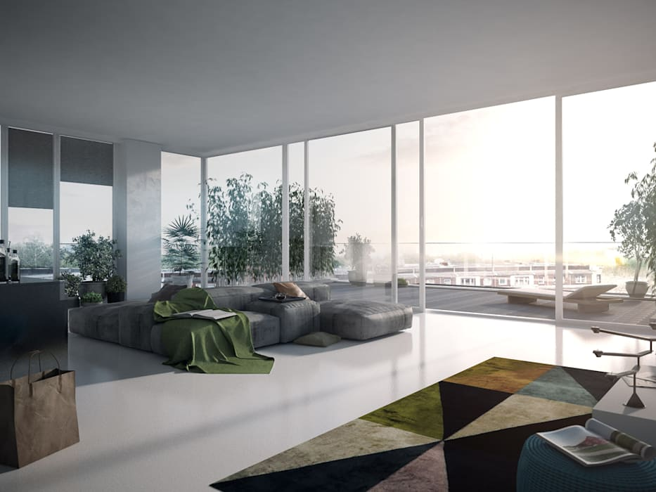 Living room by JLL Residential Development