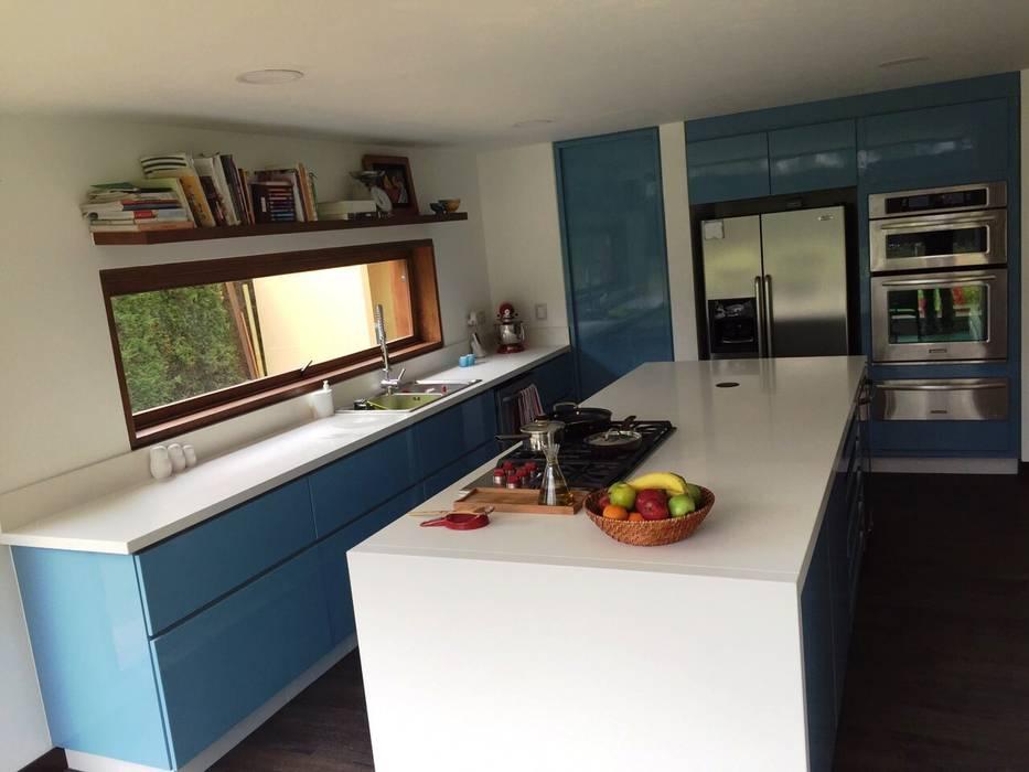 Cocina MODE ARQUITECTOS SAS Cocinas modernas Azul