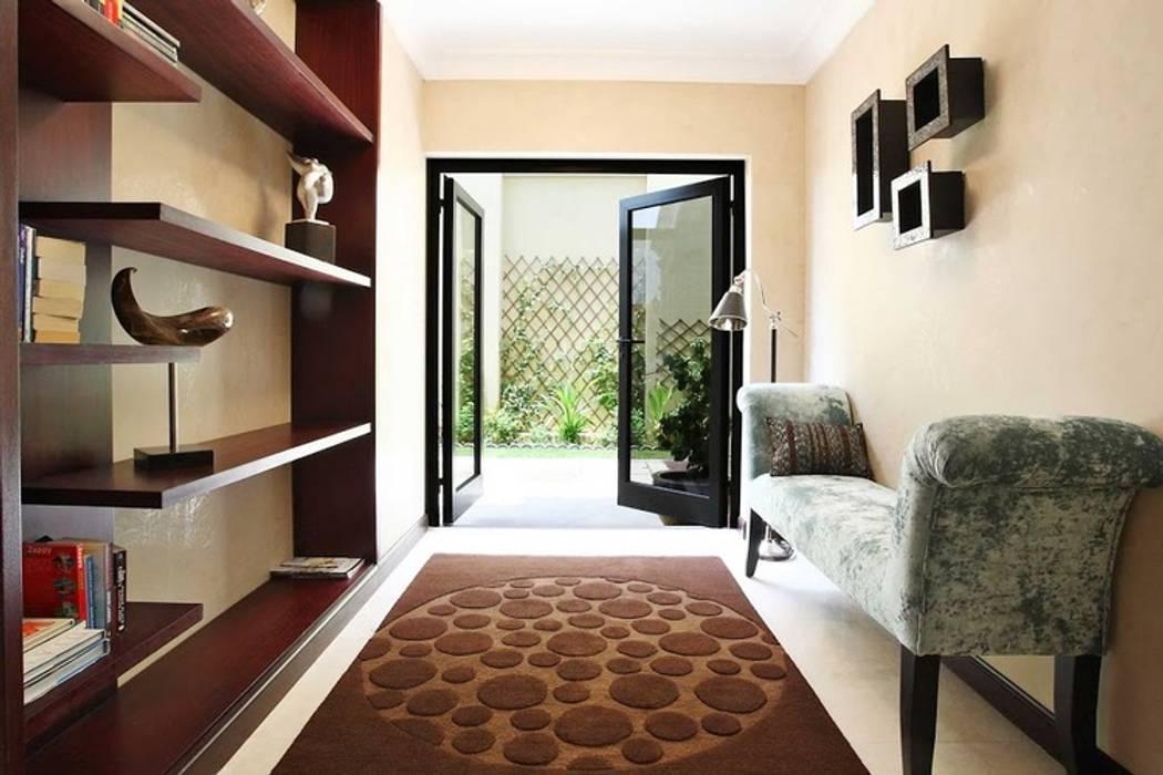 Palm Jumeirah 1 Koridor & Tangga Gaya Eklektik Oleh Chameleon Interior Eklektik