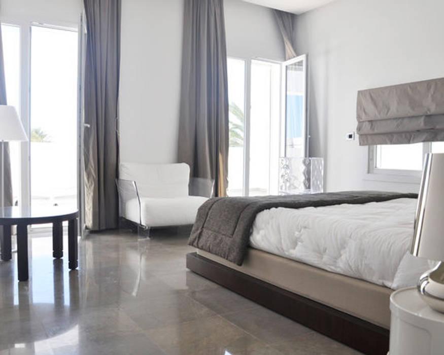 Dormitorios de estilo mediterráneo de B.A-Studio Mediterráneo