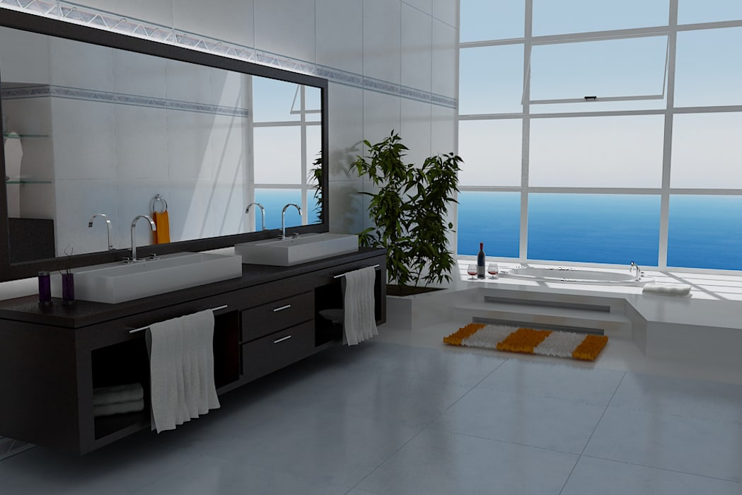 حمام تنفيذ Arquitectos y Entorno S.A.S,