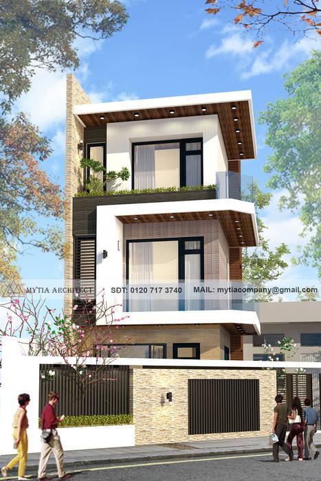Nhà phố ở Quy Nhơn bởi Mytia.CO, Ltd