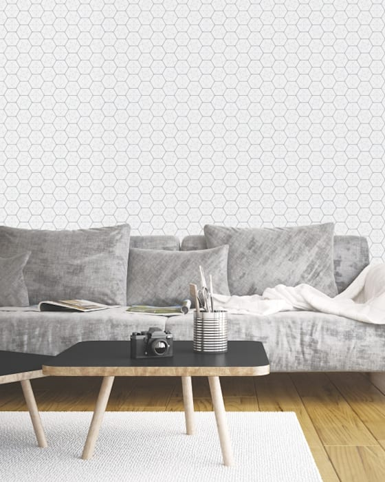 Housed - Wallpapers Pareti & PavimentiCarta da parati Carta Grigio