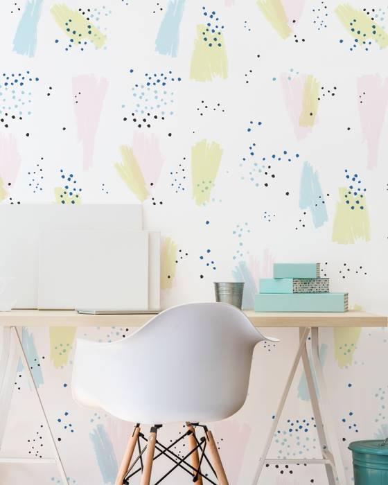Housed - Wallpapers Pareti & PavimentiCarta da parati Carta Rosa