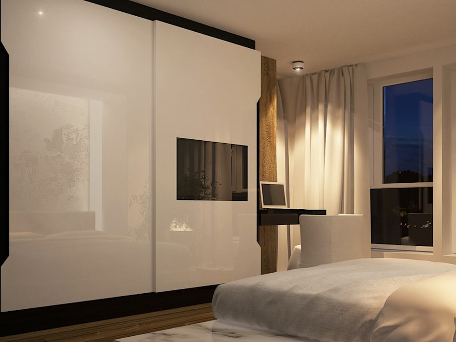 Bedroom Interior Design:  Bedroom by Urban Living Designs