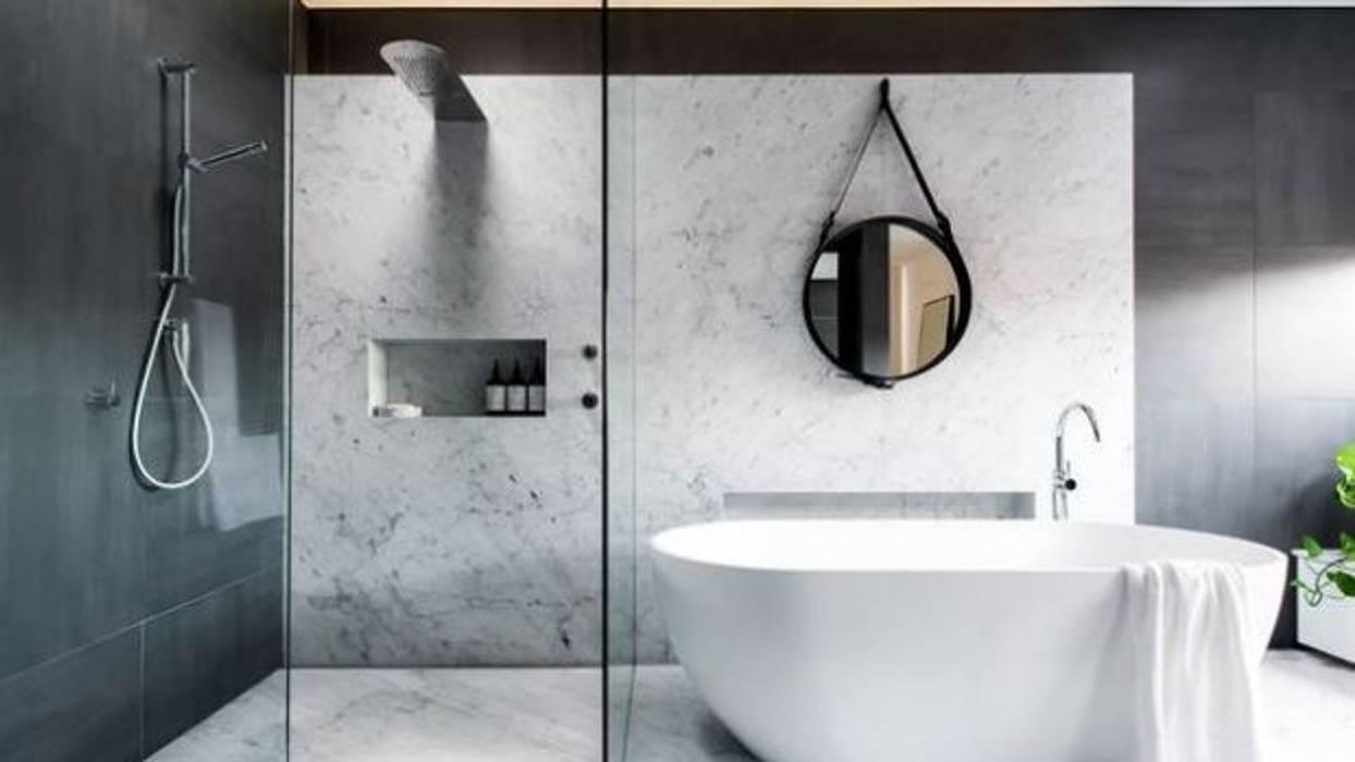 Open Space Bathroom Ideas Modern bathroom by Urban Living Designs Modern