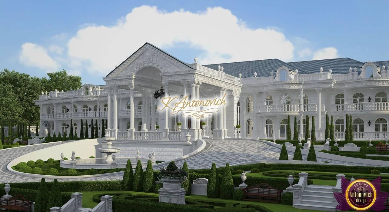 The architecture art from Katrina Antonovich Classic style houses by Luxury Antonovich Design Classic