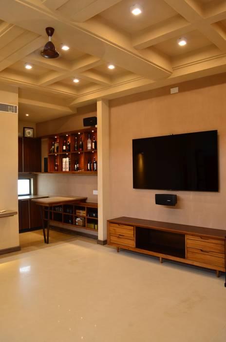 Salas / recibidores de estilo  por Chaukor Studio, Ecléctico