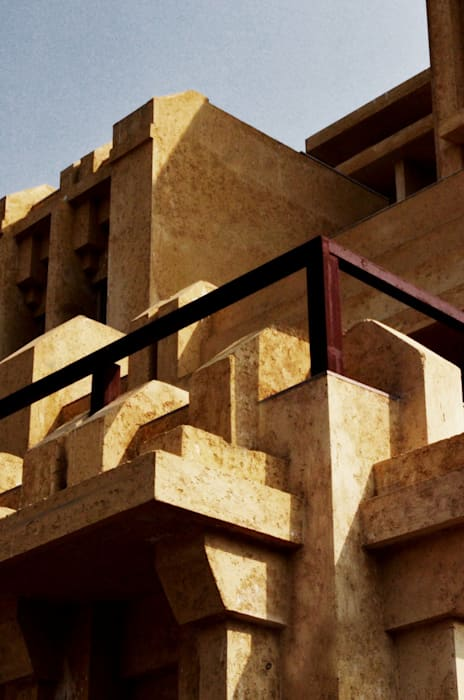 The Minaret House Eclectic style houses by Chaukor Studio Eclectic