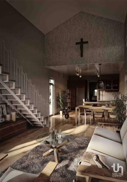 Bao Loc House:  Spa by Tuan Han Design Studio,