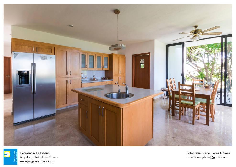 Cocina: Muebles de cocinas de estilo  por Excelencia en Diseño, Moderno