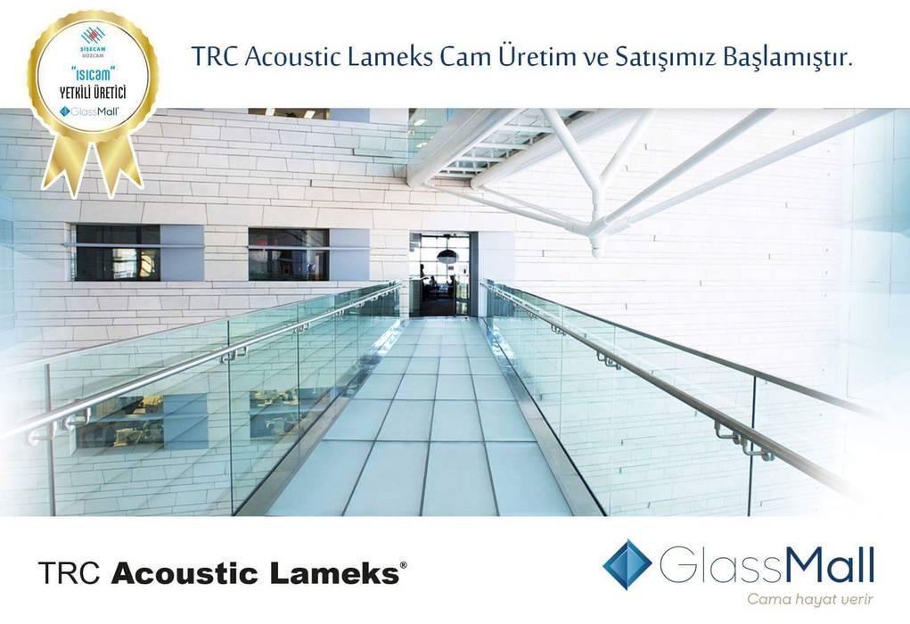 uPVC windows by Glassmall Cam San. Tic. Ltd. Şti.