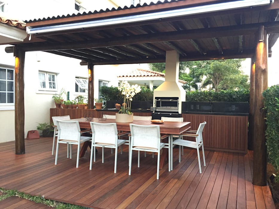 Patios & Decks by branco arquitetura, Tropical