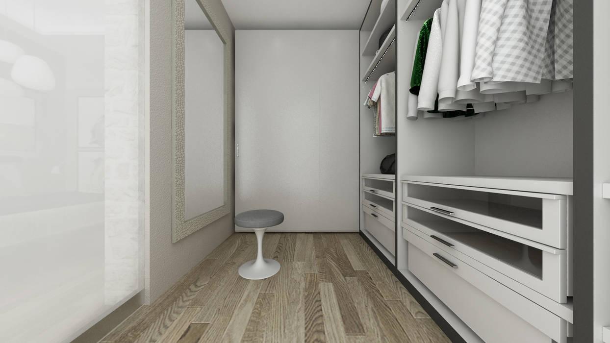 Ruang Ganti Gaya Mediteran Oleh De Vivo Home Design Mediteran