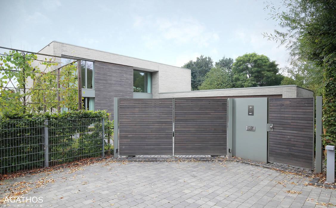 Neubau einer Villa in Ostbelgien:  Häuser von Architekturbüro Sutmann