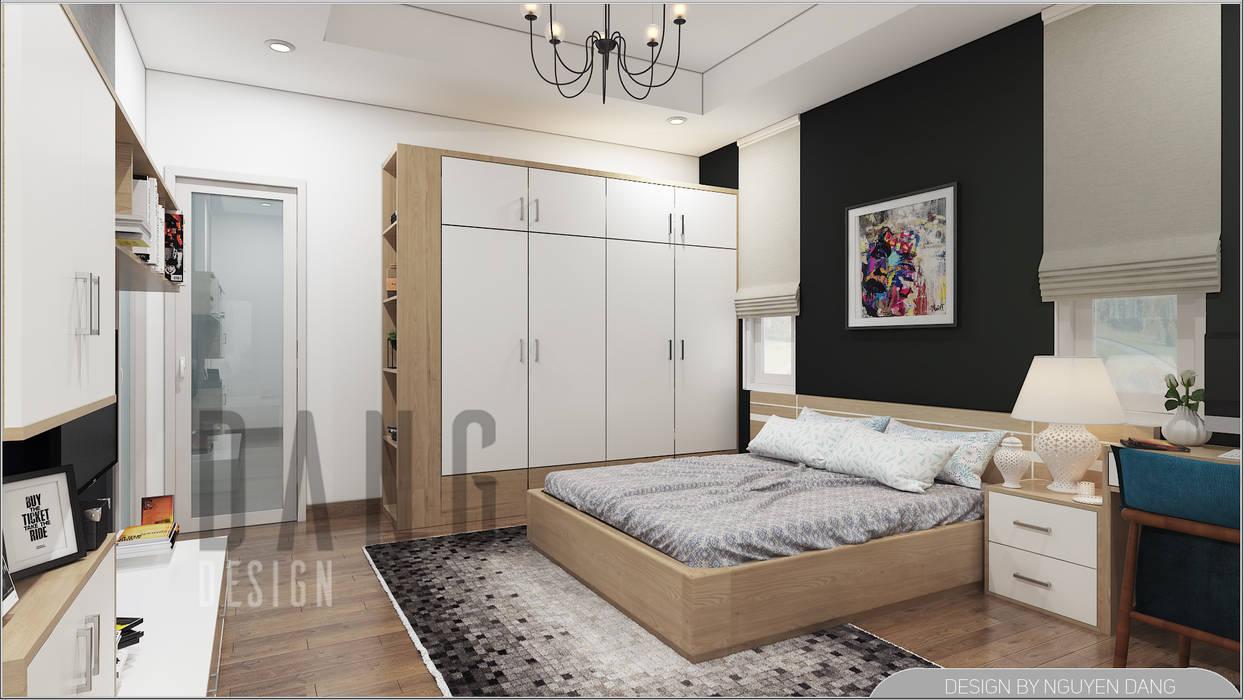 PHÒNG NGỦ:  Phòng ngủ by DCOR, Châu Á