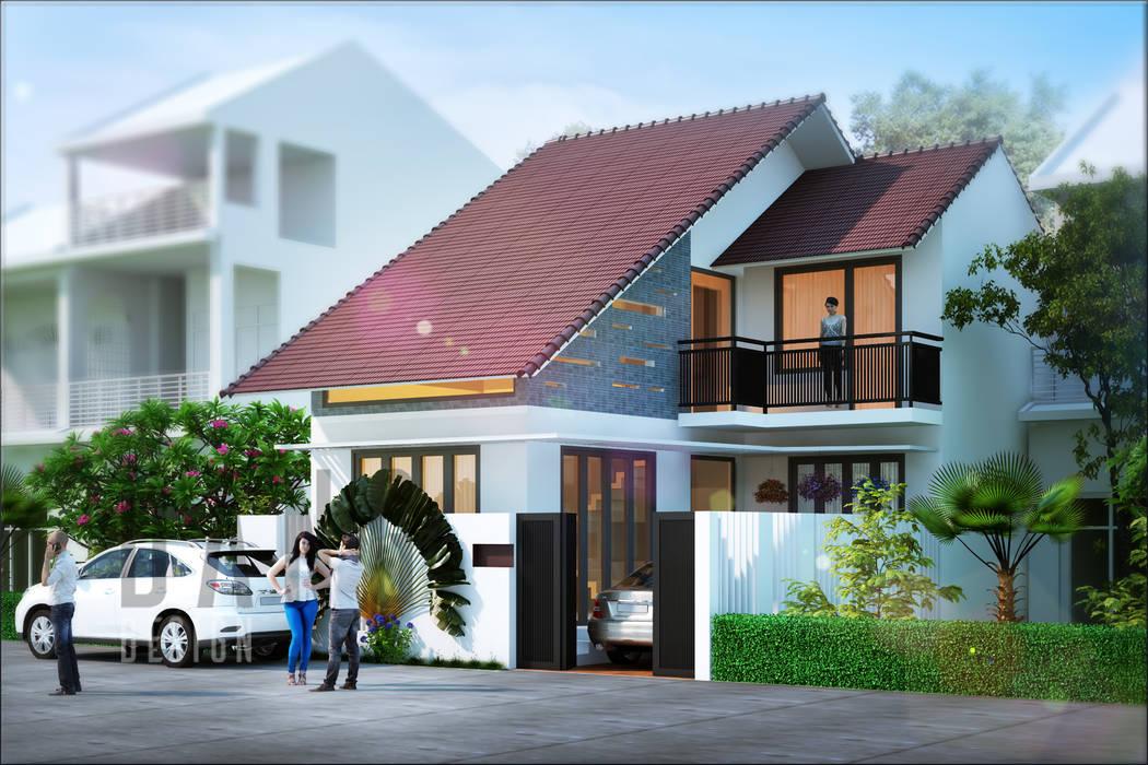 Condominios de estilo  por DCOR, Asiático