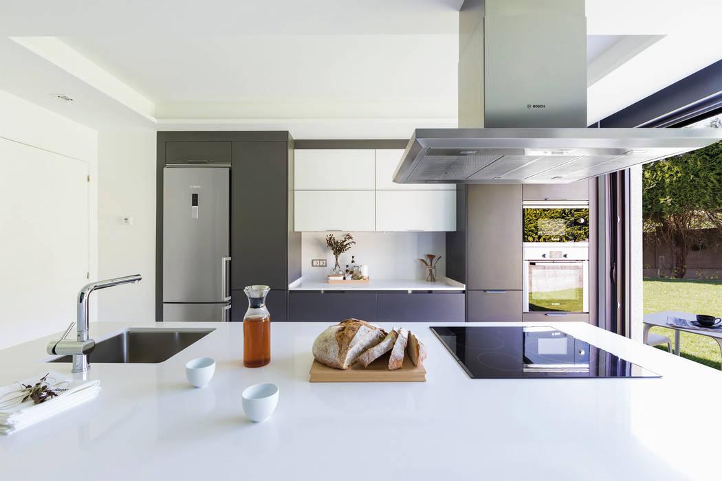 Muebles columna: cocinas integrales de estilo de santiago interiores ...