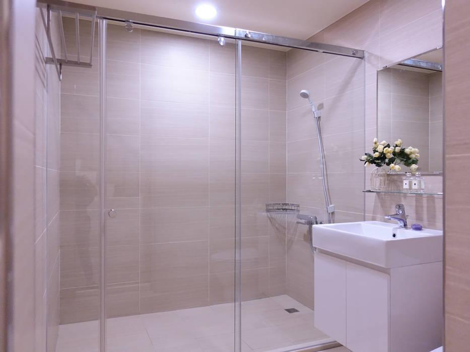 水木空間設計:  浴室 by 水木空間設計