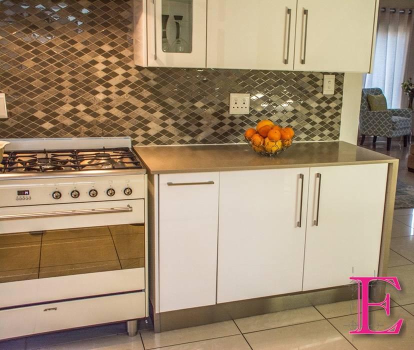 Modern White High-gloss: Kitchen Units By Ergo Designer