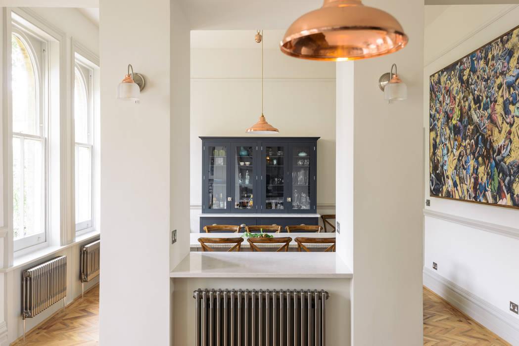 The Crystal Palace Kitchen by deVOL :  Kitchen units by deVOL Kitchens