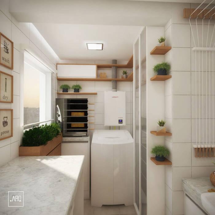 Moderne Küchen von PONTO ARQ. ARQUITETURA E URBANISMO Modern