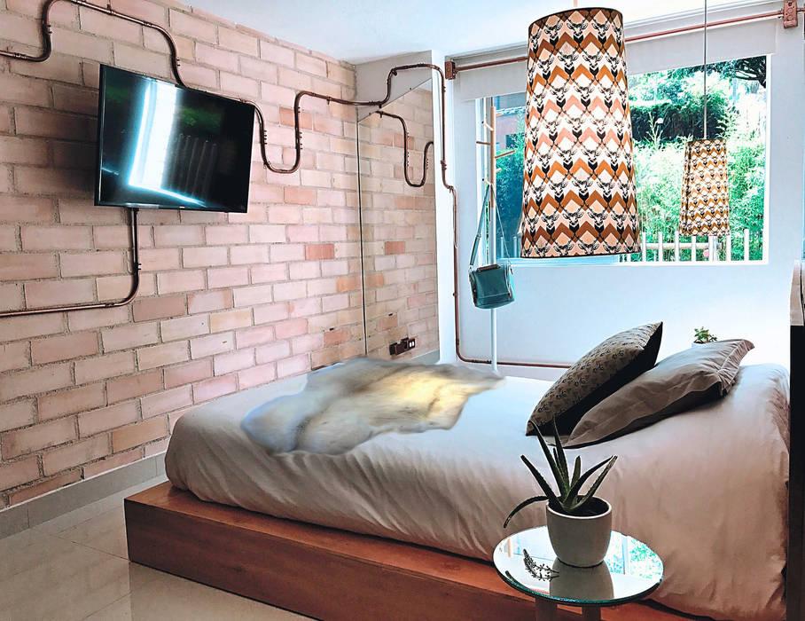 Habitacion : Habitaciones de estilo  por Aluzina
