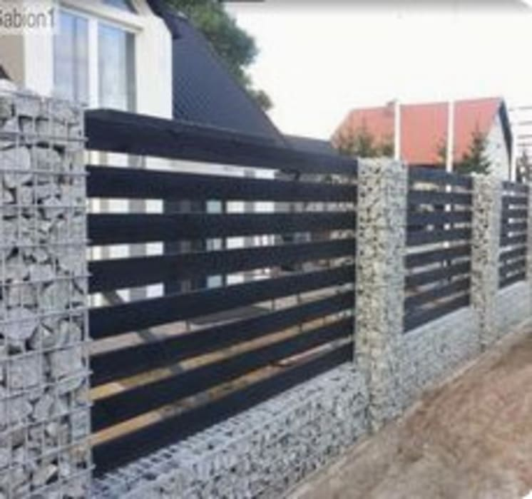 Boundary Walls Modern houses by Nozipho Construction Modern