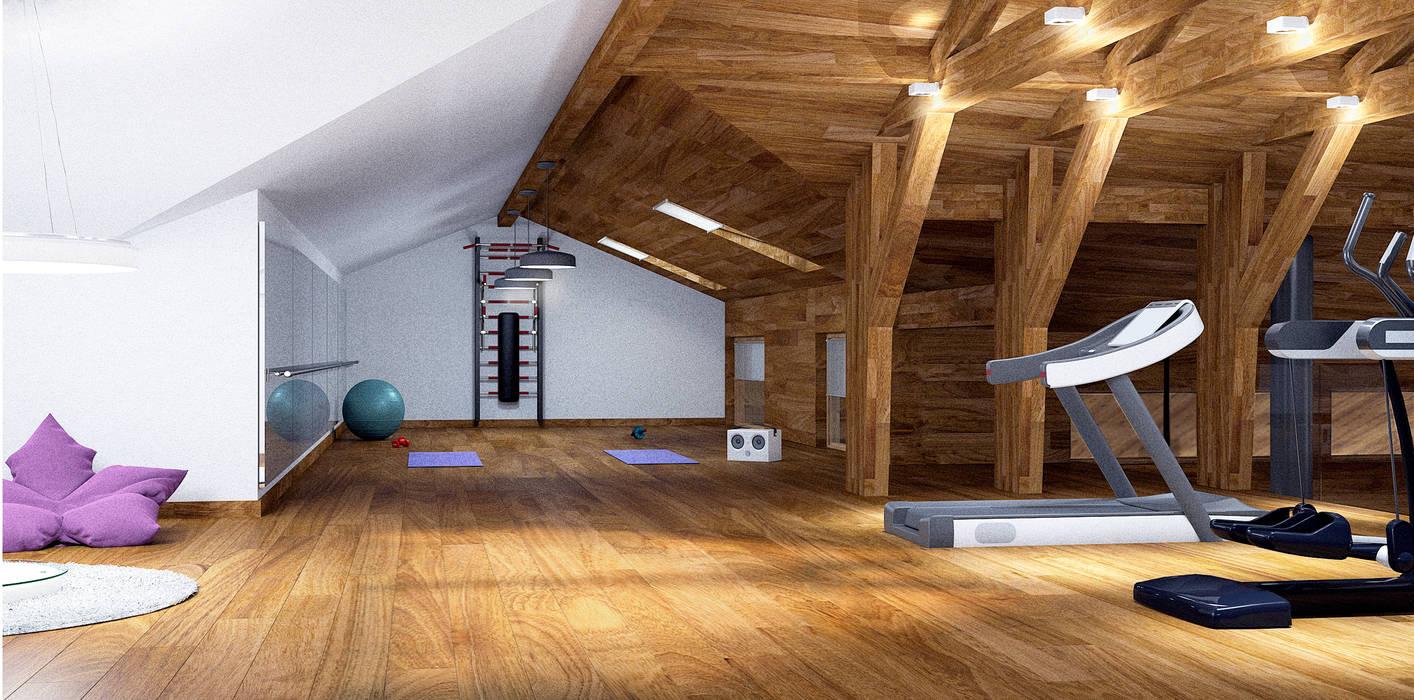 Gym by ARCHDUET&DA,